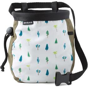 Prana Graphic Chalk Bag with Belt Cargo Green Trees